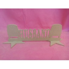 MDF Husband camper van plaque